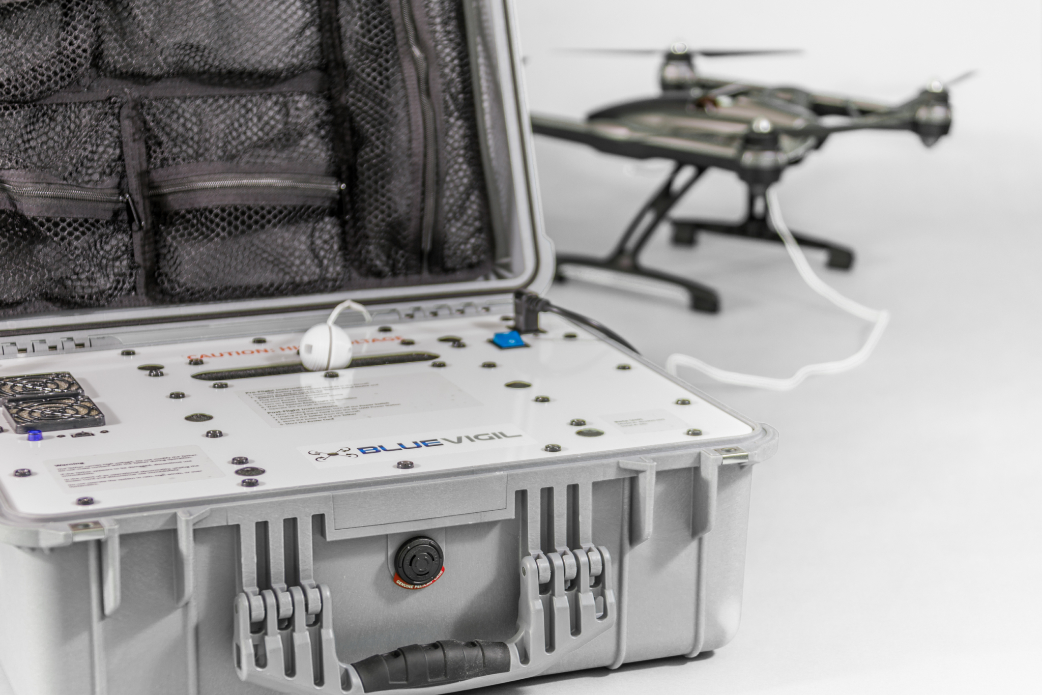 Blue Vigil Tethered Drone Product